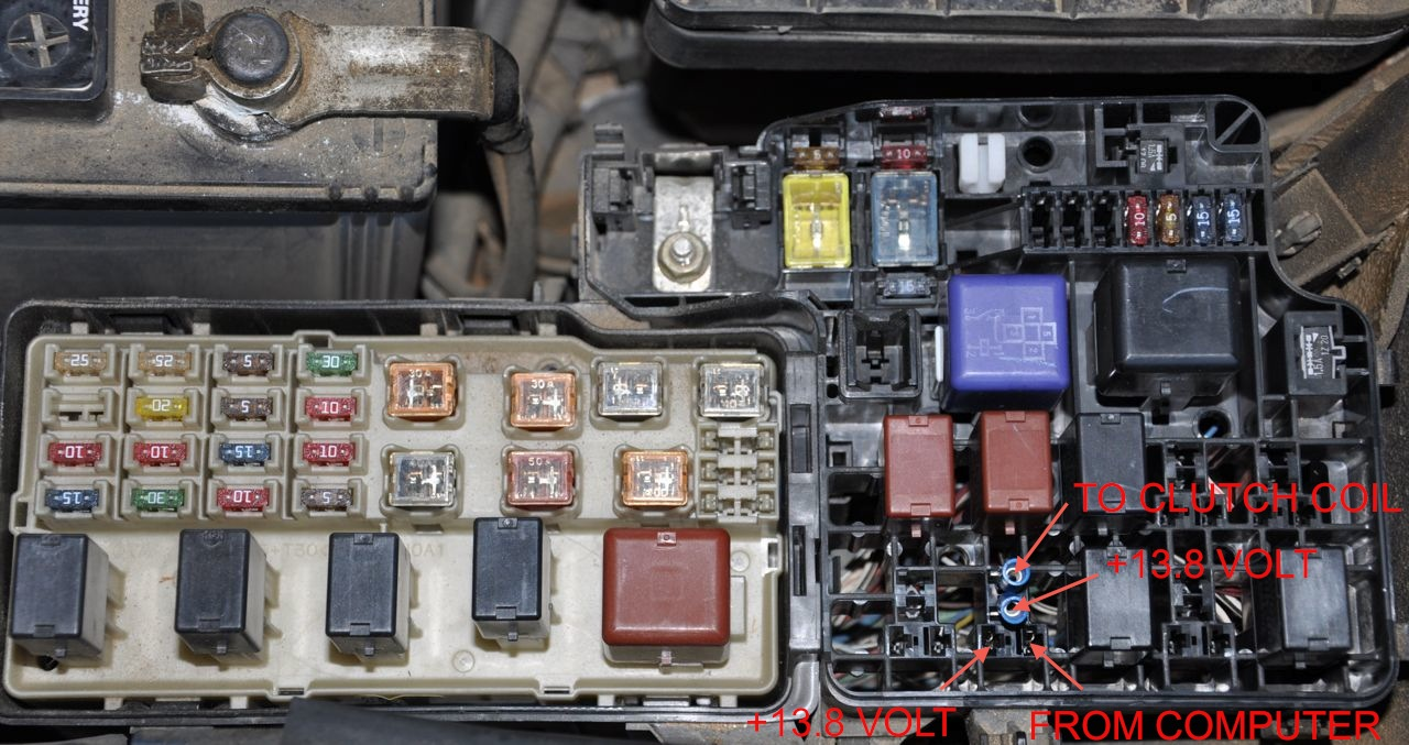 camry fuse box diagram